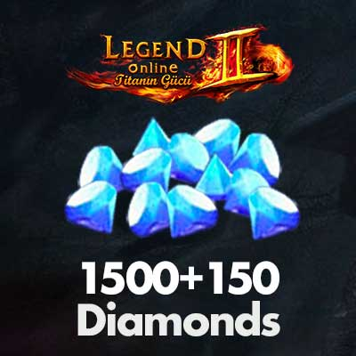 1500+150 Diamonds