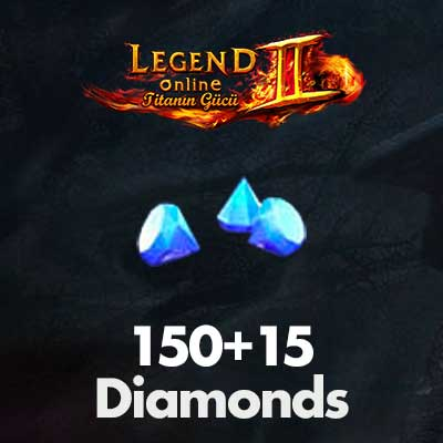 Legend Online 150+15 Diamonds