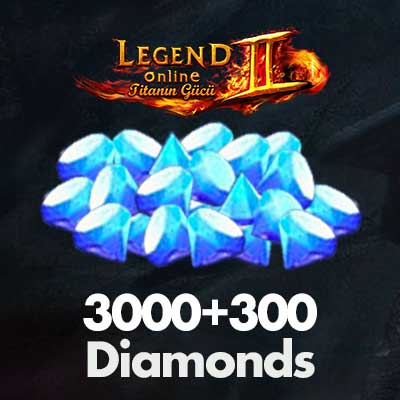 3000+300 Diamonds