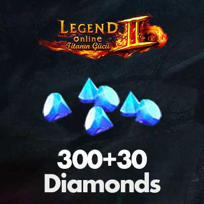 Legend Online 300+30 Diamonds