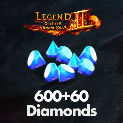 Legend Online 600+60 Diamonds