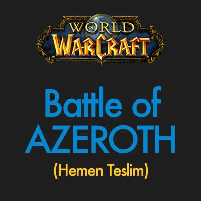 World of Warcraft Battle for Azeroth <font color=red>