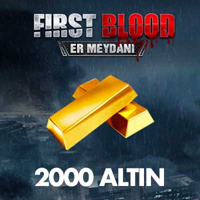 2000 First Blood Altını