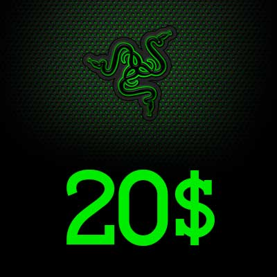 20 USD Razer Gold Global Pin